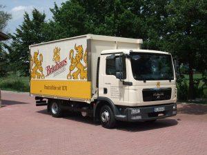 LKW Bräuhaus Ummendorf: WIr liefern Getränke aus!